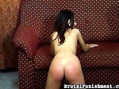 Nipple nastiness and reddened butt-cheeks
