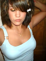 Beautiful Emo Teen posing