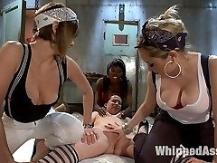Annabelle Lee is minding her own business in the city when Aiden Starr and Nyomi Banxxx pluck...