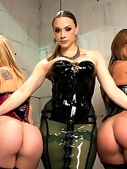 Bailey Blue and Cassandra Nix get their anal limits pushed with Chanel Preston in this hot...