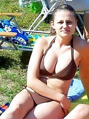 Voyeur homemade porn shots of huge boobs girl