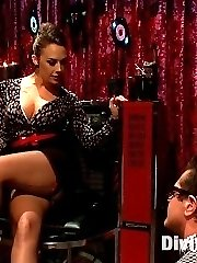Mistress Chanel Preston, our newest resident Divine Bitch nails it and I mean nails it with the...