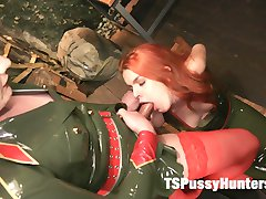 Isabella Sorrenti has captured a hot spicy red headed spy who is known for having a weakness for...