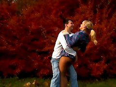 Even something innocent like a walk in the woods, enjoying the fall colors can turn into...