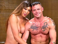 Venus Lux cant wait to get her wicked hands all over Sgt. Miles and teach this military boy just...