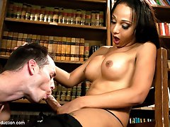 Welcome newcomer Sunshyne Monroe who is just kicking off her porn career and certain to be a...