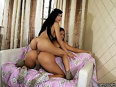 2 fucking ass tranny fucked hard in each others ass hot 3some tranny sex