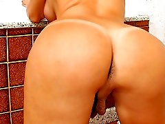 Super barbarella gets her groove on in these hot outdoor ass slammin tranny vids