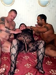 Horny swingers caught on cam doing the nasty