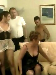 British couples swapping their partners and getting wild in swingers club