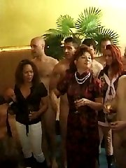 A group of swingers playing nasty games in one of swing clubs in Austria