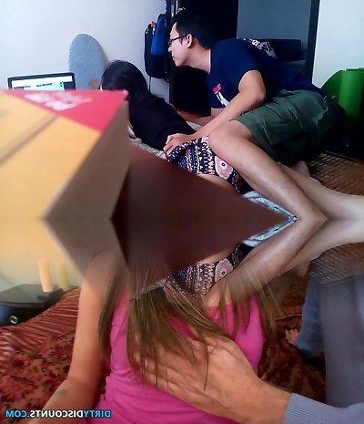 Hidden camera in sex cam adult videos
