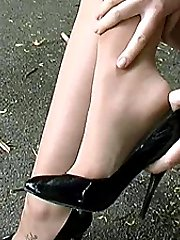 When you see a gorgeous sexy lady walk down the high street in sexy high heels you can't resist taking a look can you? And as you look at her and hear the sound of her heels it affects you, your pulse quickens, your breathing becomes short and you need relief. Well sexy Miss Pussy will give you everything that you need and more
