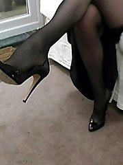 Dr Holly knows that she is very stimulating to look at, and especially so when she wears her highest heels. As you also know, it is not just about the heel and how high and thin it is. It is also about the look of the lady's sexy shoe and surely Holly's heels will cause you to feel it once again