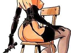 manga porn femdom bdsm