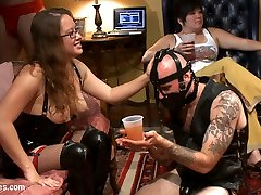 For those of you who missed Maitresse Madelines and Goddess Aiden Starrs LIVE and PUBLIC...