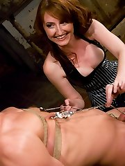 Mistress Kendra is smoking hot wearing tight fitted latex and a sadistic smile. She seizes...