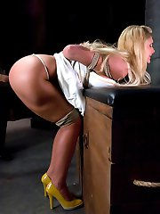 Phoenix Marie is a drop dead gorgeous blonde with big tits and a great ass. She can take a lot...