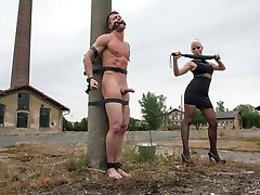 Our eastern European expeditions continue with Mistress Lorelei Lee at an old meat factory in...