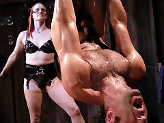 Intense Restrain Bondage Lovers, this update is for you.  Throw in some distorted psychological predominance and pain have fun, and we have Miss Adams and European at their finest.
