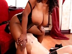 Mean Amazon Bitches - Voluptuous Stunners Dominate Poor Wimp In Hot Femdom Action!