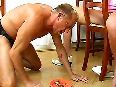 Mean foot domination & spanking
