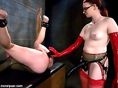 Claire Adams completely dominates this update with full rubber confinement, insane anal...