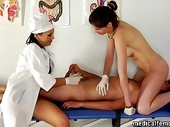 CFNM pegging and other femdom medical games