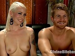 Logan Vaughn is used to girls falling all over him with his big muscles and pretty boy blonde...