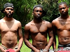 Feast out on some black ass along with this new group of black studs in an all new Thug Orgy...