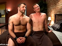 Blake Daniels has a session planned with a hot daddy and hes pretty nervous about it. When he...