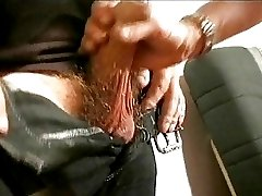 Blond Jeannie Drills Her Hairy Pussy with Dildo