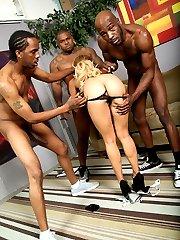 Tinslee Reagan Interracial Movies at Blacks On Blondes!