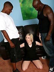 Jules Sterling Black Cock Slut at Blacks On Blondes!