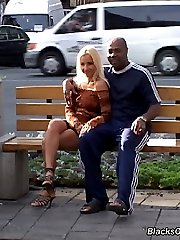 Cynthya GangFucked By Big Black Cocks at Blacks On Blondes!