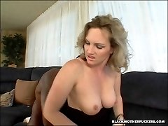 Rusty and busty mom is reminded how to fuck