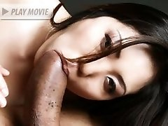 Asian hottie Kaiya Lynn pleasures a big cock and got her tight ass fucked in this interracial...
