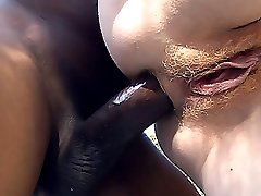 Annie Body opens her white ass cheeks