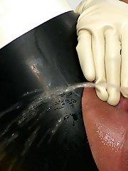Pumped pee cunt