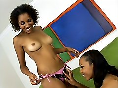 Sex toy loving black lesbian girls
