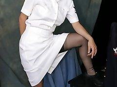 Horny nurse Anne
