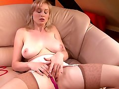 Sherry Railey girdle tease