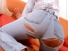 Angel in denim and more layers of pantyhose