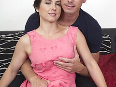 Horny housewife doing the guy next door