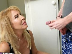 Erica Lauren Tricky Step Sonnie Hand-job at Over40handjobs