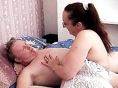 Granny Liz and her boyfriend started with an amazing foreplay before getting down to sex