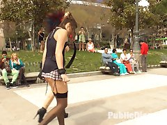 Camil Core is humiliated and shamed on the streets of Madrid by gorgeous Dom Satrina. This dirty...