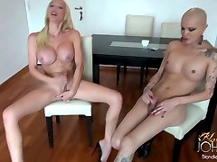 TS Ana Mancini SUCKING the COCK of TS Blondie Johnson