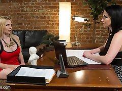 When blonde bombshell Christie Stevens meets with expert divorce lawyer Veruca James she strikes...