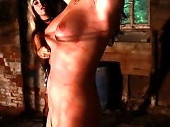 Hanged up for pussy whipping